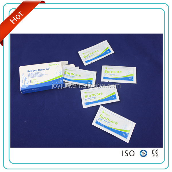 Relieve Burncare 3.5g gel with CE&FDA lowest