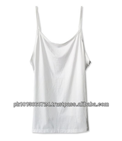 BRIGHT PLAIN TANK TOP FOR GIRLS /WOMEN 100% COTTON
