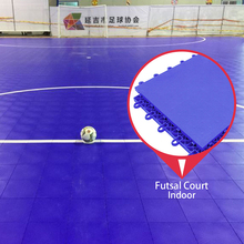 100% brand new pp materials portable mat tiles indoor futsal court floor