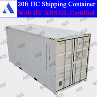 New 20ft high cube container with CSC plate