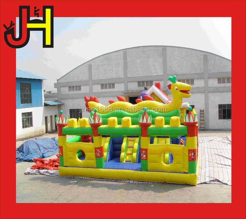 Inflatable Octopus theme park/obstacle/combo slide/bouncer for sale