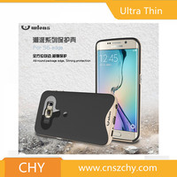 Cheap price ultra thin armor tpu+pc hybrid phone case for samsung galaxy s6 edge