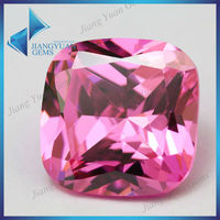 Diamond Fire Of Pink Cushion Cut Square Shape CZ