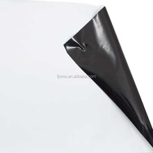 white black 12m plastic sheeting for silage covering