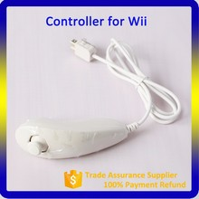 Alibaba Trade Assurance Supplier Classic Game Joystick Wired Nunchuck for Wii