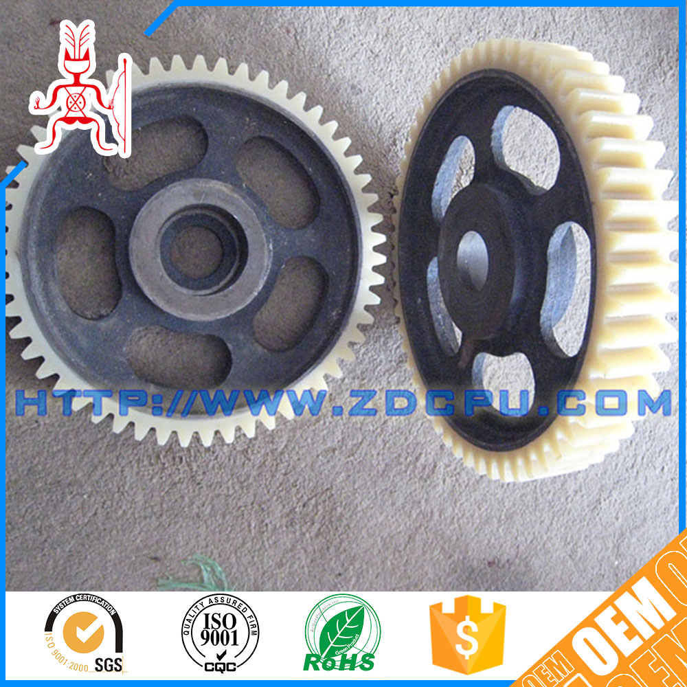 Cheap oilproof plastic spur gear for toy