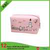 hot selling pink color travel cosmetic bag
