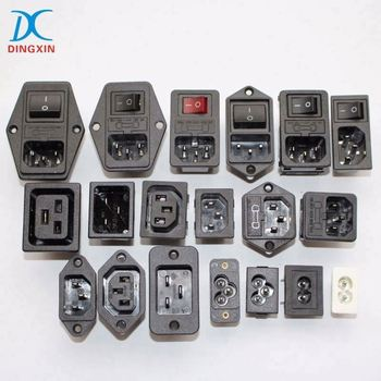 UL VDE Approval AC Power Connector CD44.4199.151