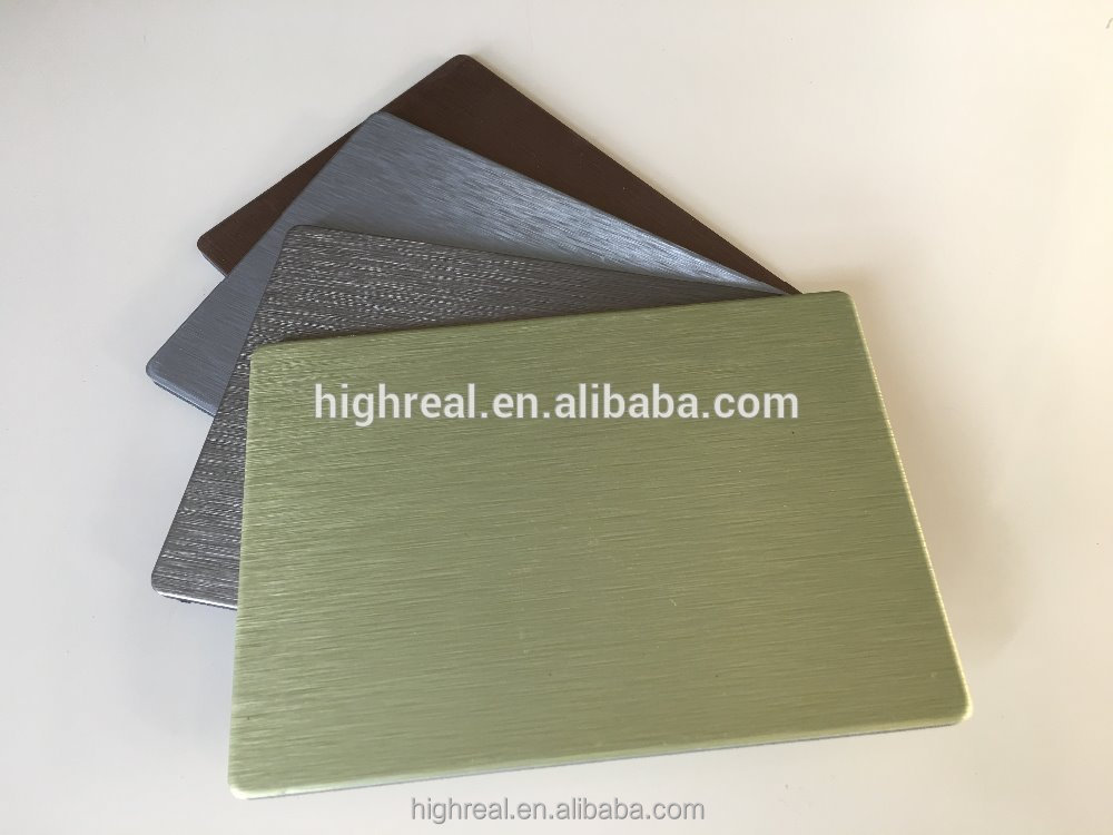Professional aluminium composite panels acp metal sign board aluminum with high quality