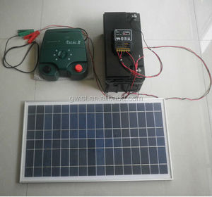 solar powered farm electric fence charger Electric Fence energiser Controller solar powered electric fence energiser