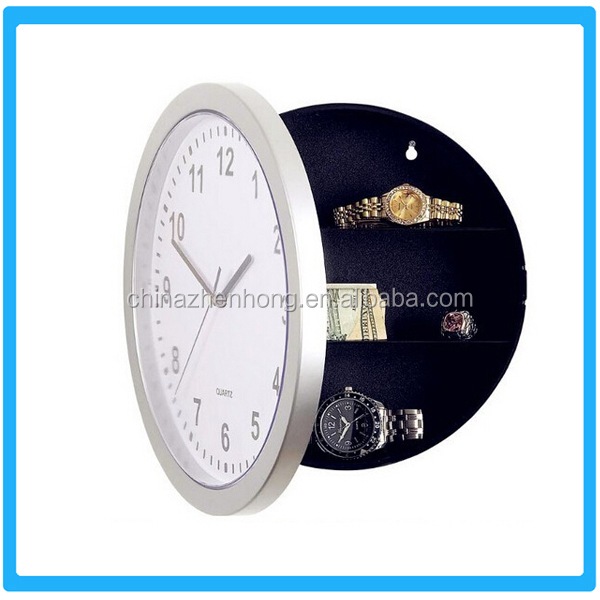 Hot Selling Plastic Wall Clock Safe