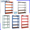 5-tier angle steel adjustable industrial shelving units