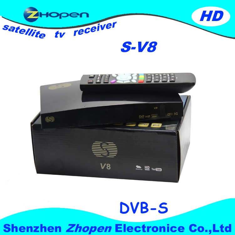 2014 newest tv box s-v8 support cccam+newcam+mgcam