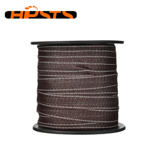 UV black plastic electric fence polytape for horse fence