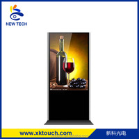 46 inch event party kiosk with USB,VGA,DVI,H DMI interface