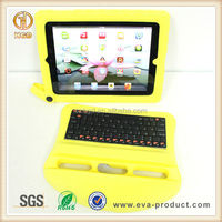 2015 High quality multi-function wireless bluetooth keyboard case for iPad 3