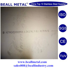 best quality B625 Alloy 926 UNS N08926 1.4529 Sheet and plate manufacturer