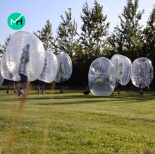 Cheap 100% TPU outdoor human inflatable bumper bubble ball for sale
