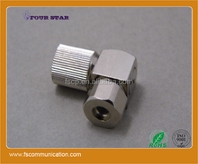75ohm bt3002 cable male plug right angle clamp rf coaxial 1.6/5.6 connector