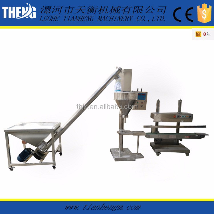 Auger Filler 1kg Bag Packing Filling Powder Machine