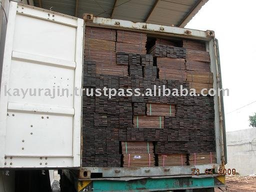 1x20' Container wood