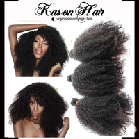 Hot Sale New Products Afro Kinky Human Hair Natural Color 12 14 16 18 Virgin Indian Hair