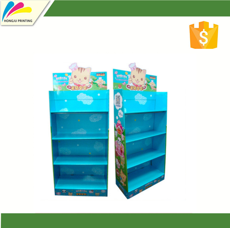 large cmyk printed paper display stand