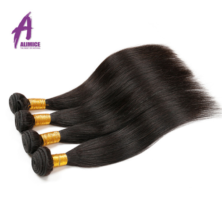 No Tangle&Shedding Intact 100% Human Weaving Virgin Peruvian Human Hair
