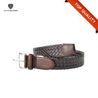 Braided Men Used Leather Belt Making Supplies/Mens Leather Belt for Jean