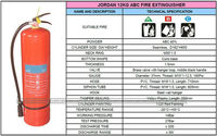portable 9kg ABC fire extinguisher