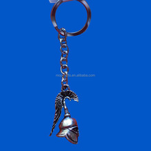 Pewter key chain, pewter keychain ornament