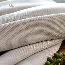 Best selling fashion plain linen fabric for curtain