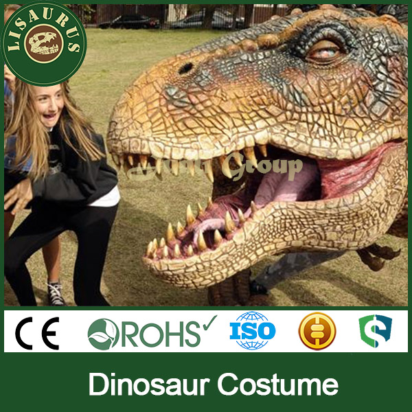 Lisaurus-L0055VK Crazy products for export animal cosplay dinosaur costume