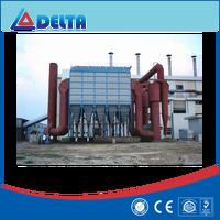 High efficiency industrial dust control system