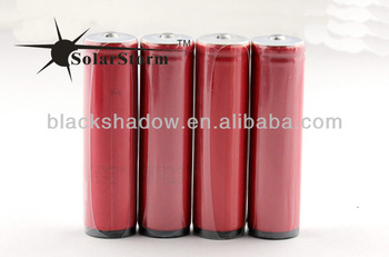 Hot!!! 3.7V 2600mah Sanyo rechargeable lithium 18650 battery