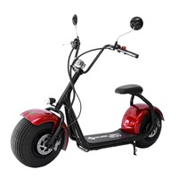 2017 popular CE EEC Approved Harley style 1000W best electric scooter for adults
