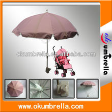 Hot Sell Waterproof Easy Sun Parasol Umbrella For Baby Carriage