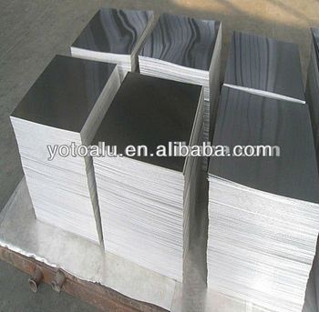 Hot rolled A5052 H32 aluminum plates with PE film