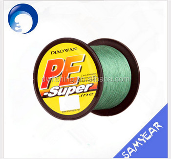 DIAOWAN 8 Strands 100LB PE Braided Fishing Line
