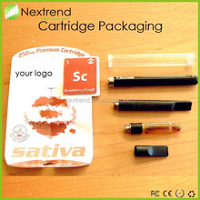 Electronic Cigarette Bud Touch Vape Pens 510 Cartridge Atomizer Clearomizer for co2 oil OEM Packaging