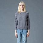 Latest New Style Winter Designs Ladies Factory Pullover Wool Custom Woman Sweater