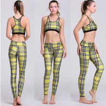 Fitness Workout Clothing And Women's Gym <strong>Sports</strong> Running Girls Slim Leggings+Tops Women Yoga Sets Bra+Pants <strong>Sport</strong> Suit For Female