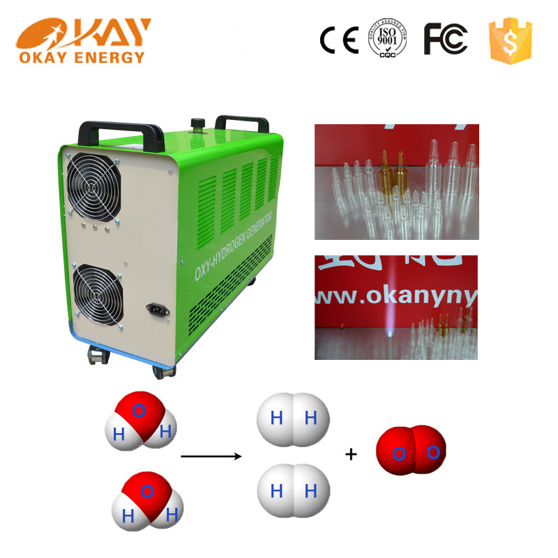 Portable generator Okay Enery vial and ampoule filling and sealing machine