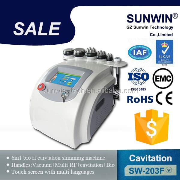 Professional FDA approved ultrasound cavitation rf machine for weight loss