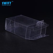 Hot selling size available custom clear pvc packing square plastic box for gift plastic folding packaging box
