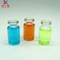10ml clear antibiotic injection moulded small glass bottle vial
