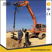 hydraulic earth drill and auger for crane