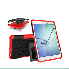 Universal Bumper Shockproof PC TPU Holster Oem Phone Rugged Plastic Heavy Duty Case For Samsung Tab Tablet A 8.0