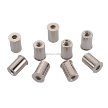 TS16949 Authentication Supplier Nickel Plated Auto Step Nuts Fastener