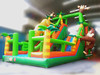 2016 Giant Jungle Drop Inflatable Sports Game Obstacle Course for Sale